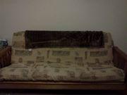 Beautiful wood futon
