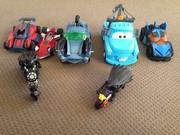 Boys toy cars and motorbikes