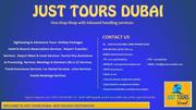 Best Tourist Spots in the Dubai
