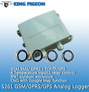 S261 GSM  SMS  Temperature Logger