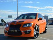 HOLDEN COMMODORE FULLY CUSTOMIZED VE V6  COMMODORE NOT VF, VZ, VY, VX,