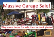 Huge deceased estate garage sale with everything imaginable!!